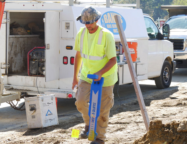 Utility Line Locator : Underground utilities locator gps utility locating in pa